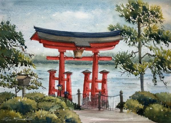 Tori Gate (En Plein Air)
