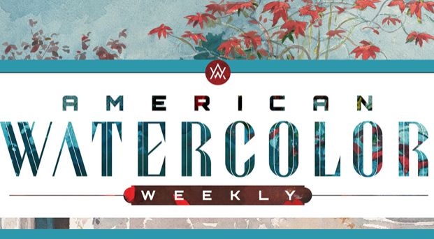 American Watercolor Weekly - Ambassador of the Week in an edition of  American Watercolor Weekly, a publication by the editor and publisher of Plein Air Magazine