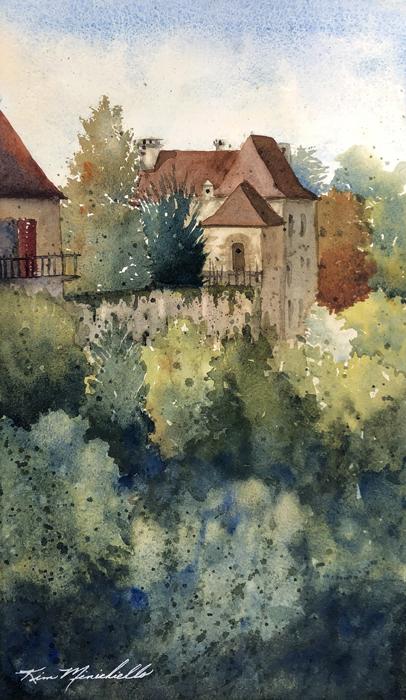 Dordogne France, (En Plein Air)