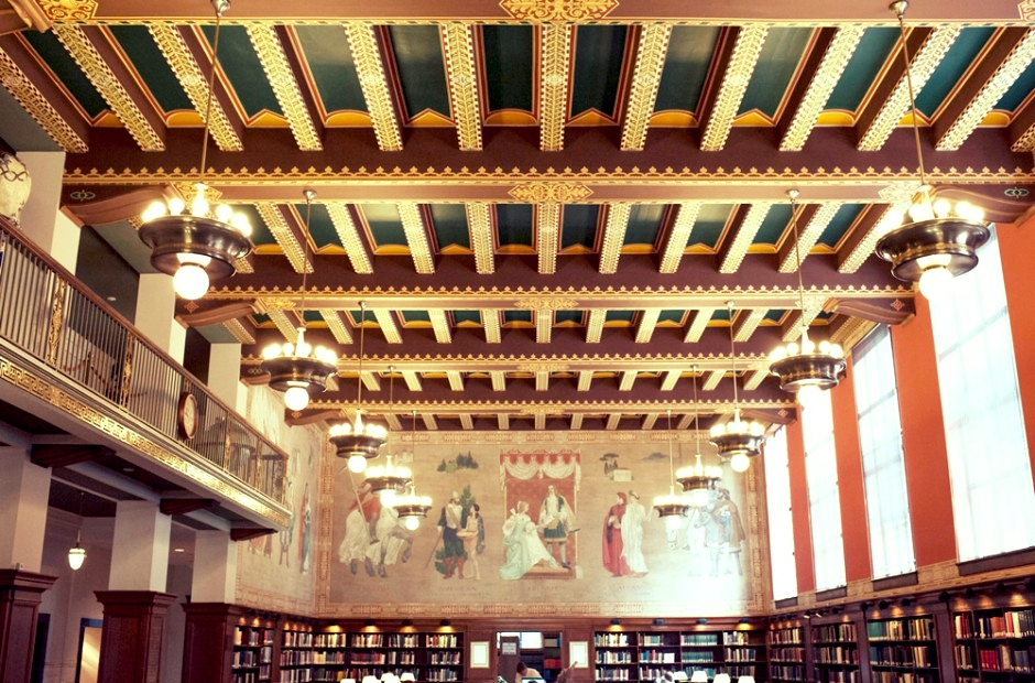 The Birmingham Public Library Reading Room