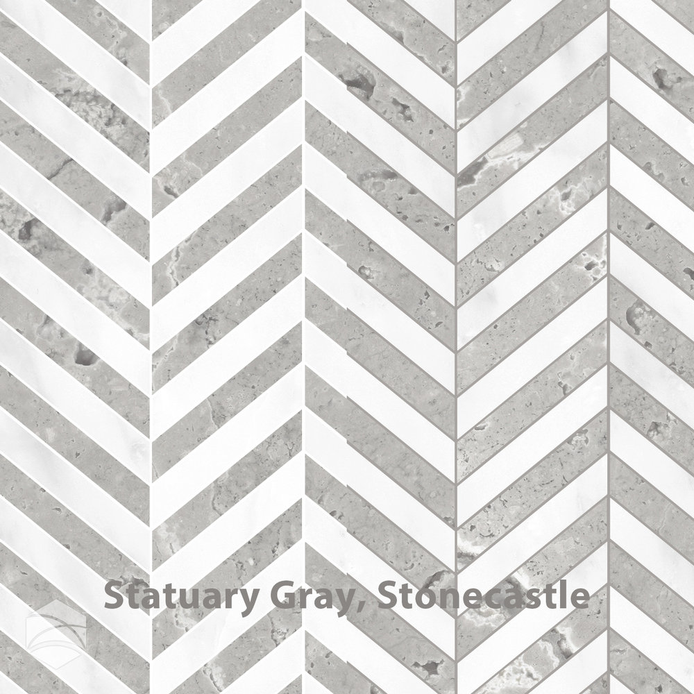Statuary Gray, Stonecastle_Chevron_V2_14x14.jpg