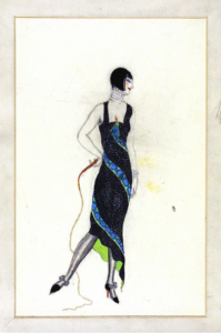 Victor Stiebel (1907-73), fashion design, England, about 1927. Museum no. E.1077-1983. Victoria and Albert Museum.