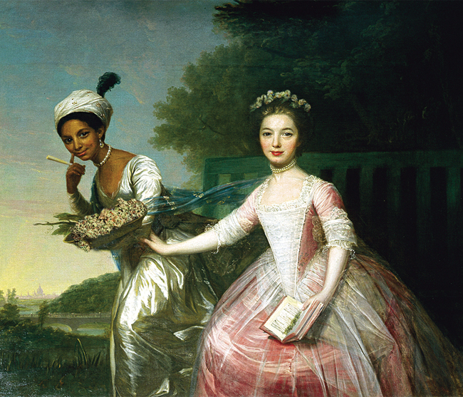 David Martin's Dido Elizabeth Belle recreated by Stoneasaurus featured in Issue II
