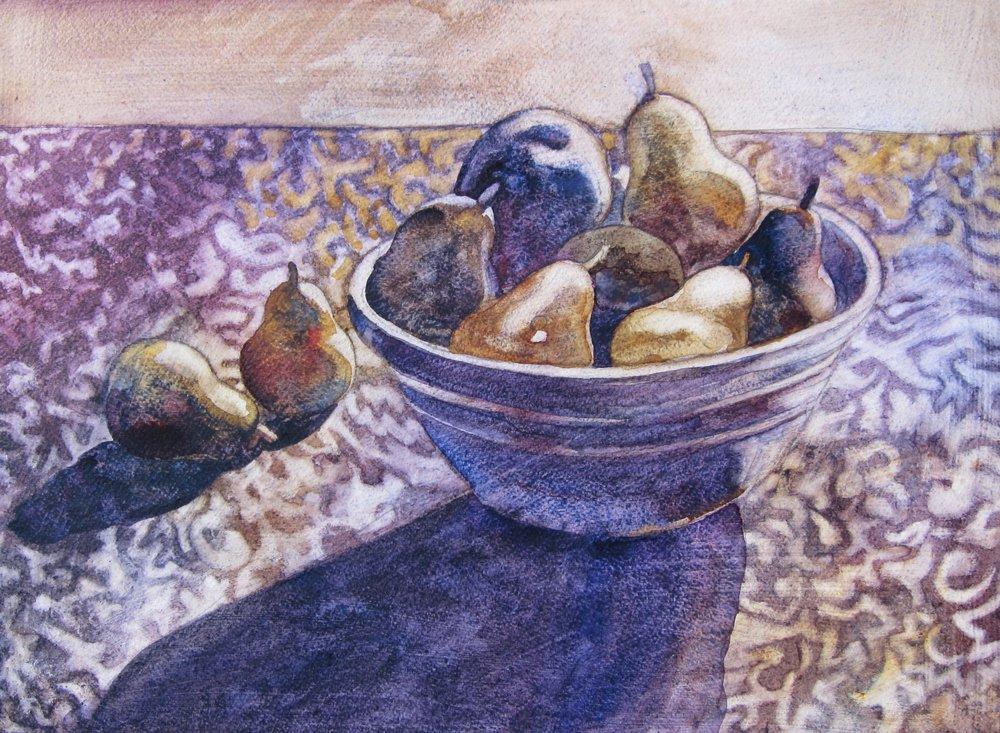 RuthMP - Sunlight on Pears.JPG