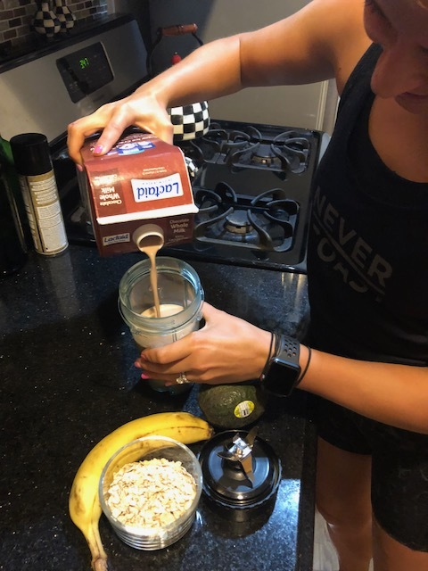 SMOOTHIE TIME - This post is sponsored by LACTAID®Workouts are a little bit sweeter (literally) when you reward yourself with smoothies on the other side! I've partnered with LACTAID® to show you some of my favorite smoothie recipes for post-workout recovery so you can get the most out of your workout. Your actions outside of class should be just as important as the work you put in during class, which is why I like to fuel my body with the nutrients and great taste you can only find in 100% real dairy – without having to worry about the consequences.