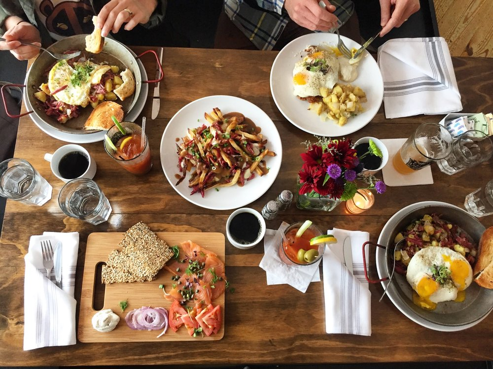 NOW SERVING BRUNCH SATURDAY & SUNDAY