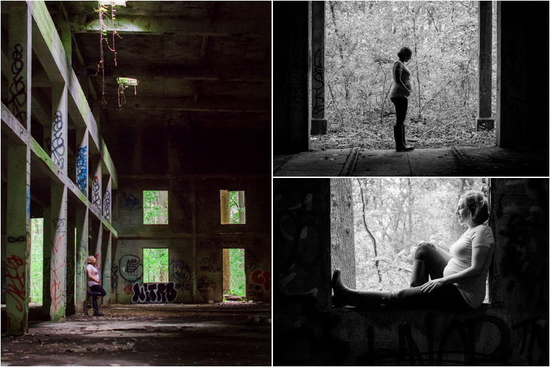 Baltimore Maternity Session - Abandoned Mill.jpg