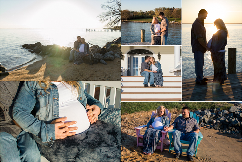 Maternity Photos at Weatherly Farm in Southern Maryland