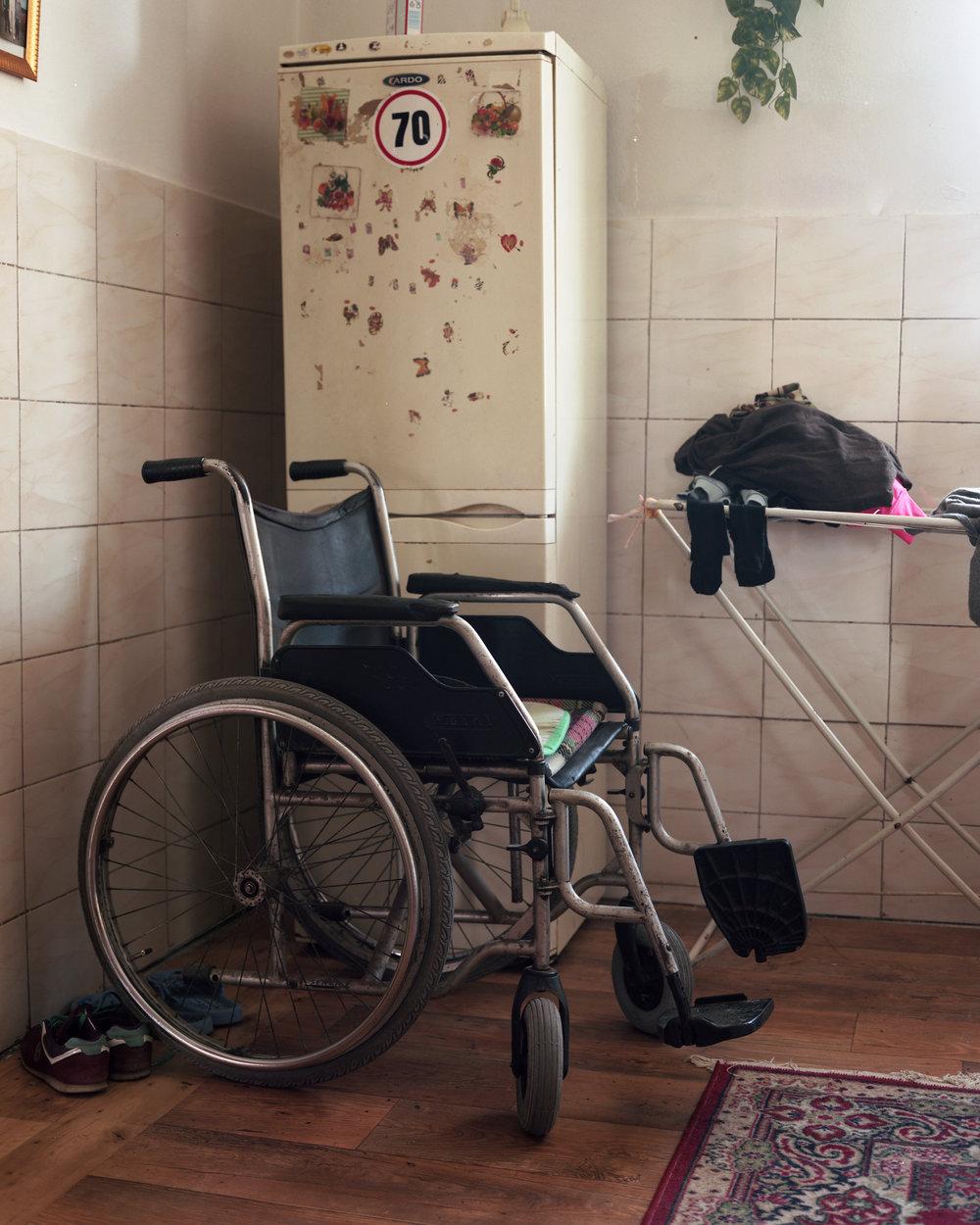 Olga_Sokal_13%22Fefe's_wheelchair, Velka Ida, Slovakia%22.jpg