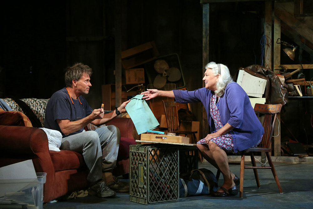 DOWNSTAIRS by Theresa Rebeck (2017)  Starring Tim and Tyne Daly