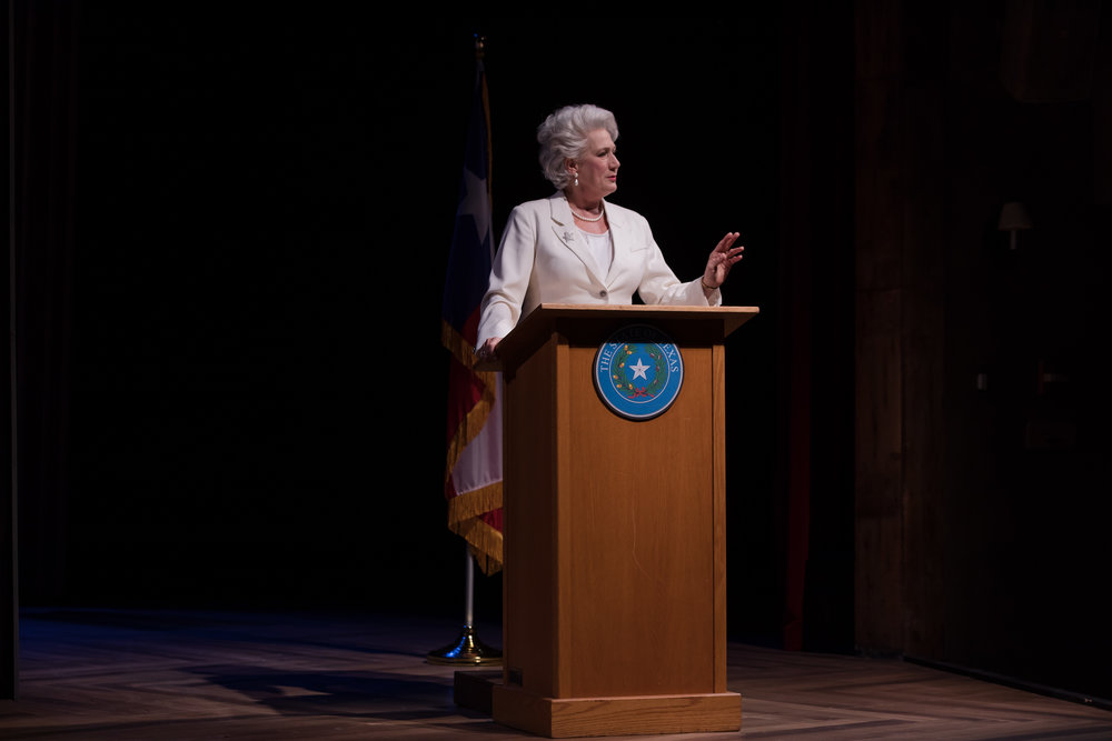 ANN by Holland Taylor (2018)  Starring two-time Tony Nominee Jayne Atkinson Photo: Joey Moro