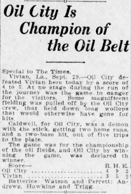 Shreveport Times 30-Sep-1912 Page 6 (OC is Oil League Champ).jpg