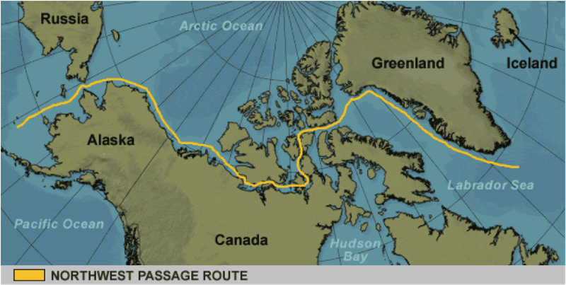 Image showing Northwest Passage ( source )