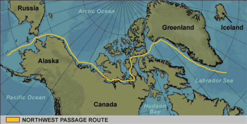 Image showing Northwest Passage (source)