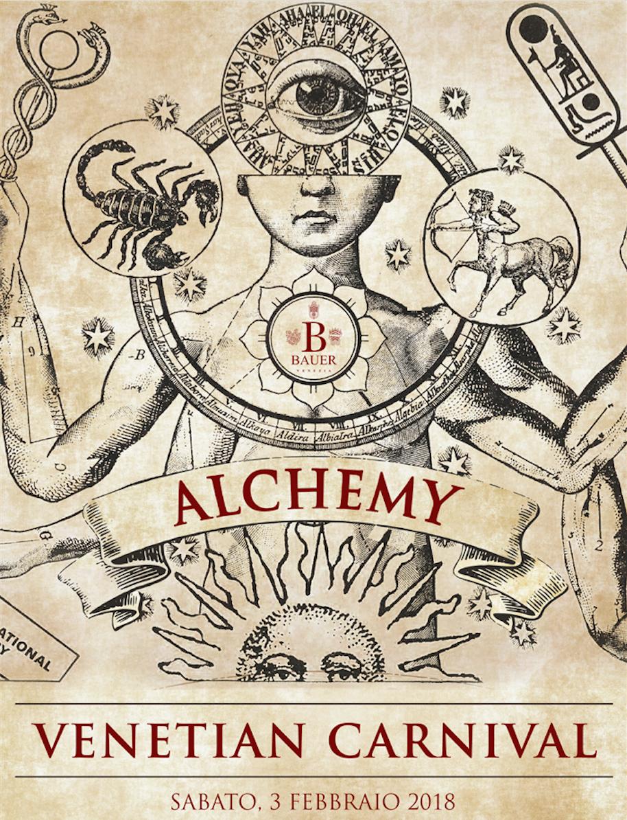 Alchemy - saturday Feb 3rd
