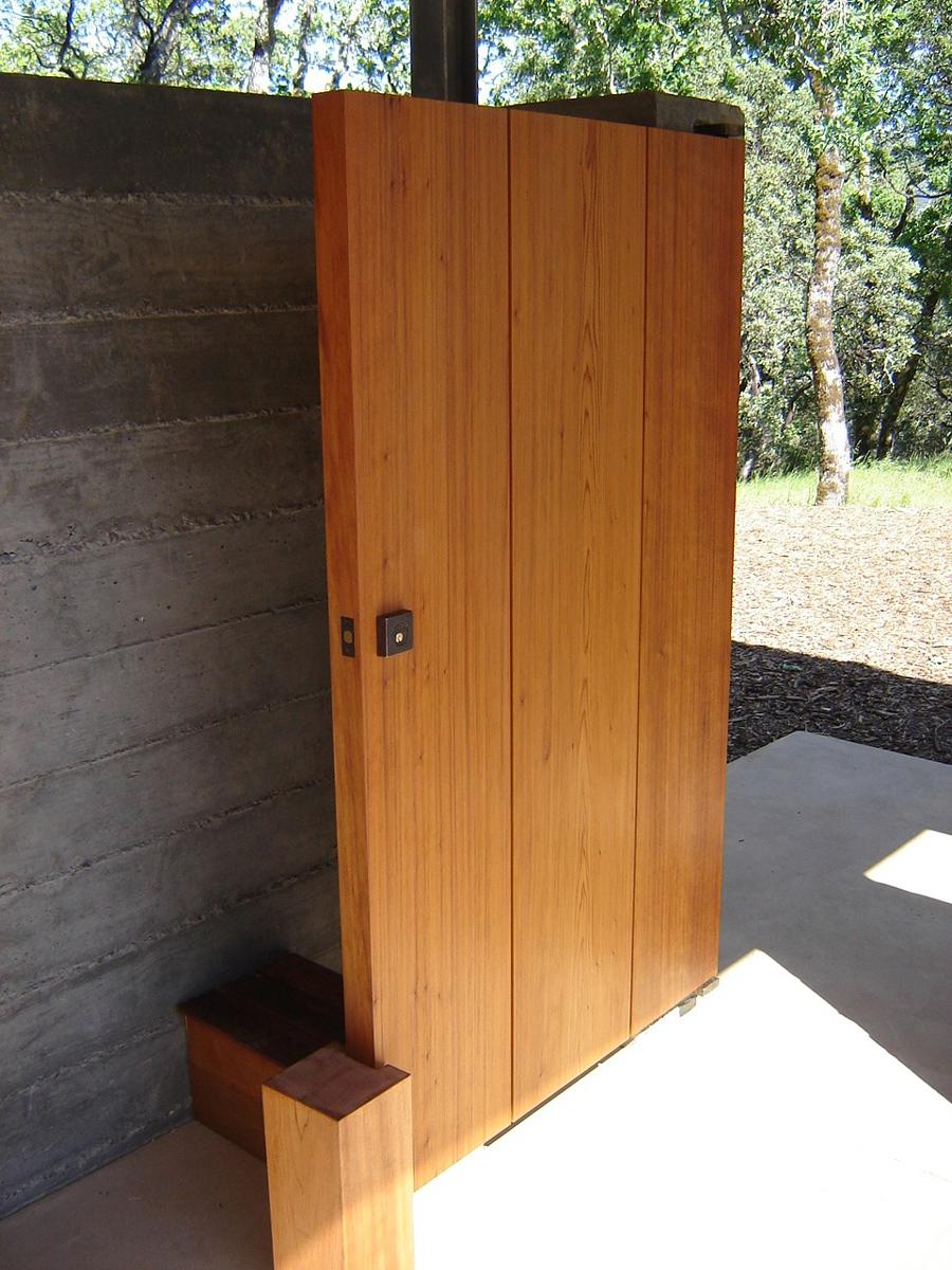 Modern Home Exterior Detail