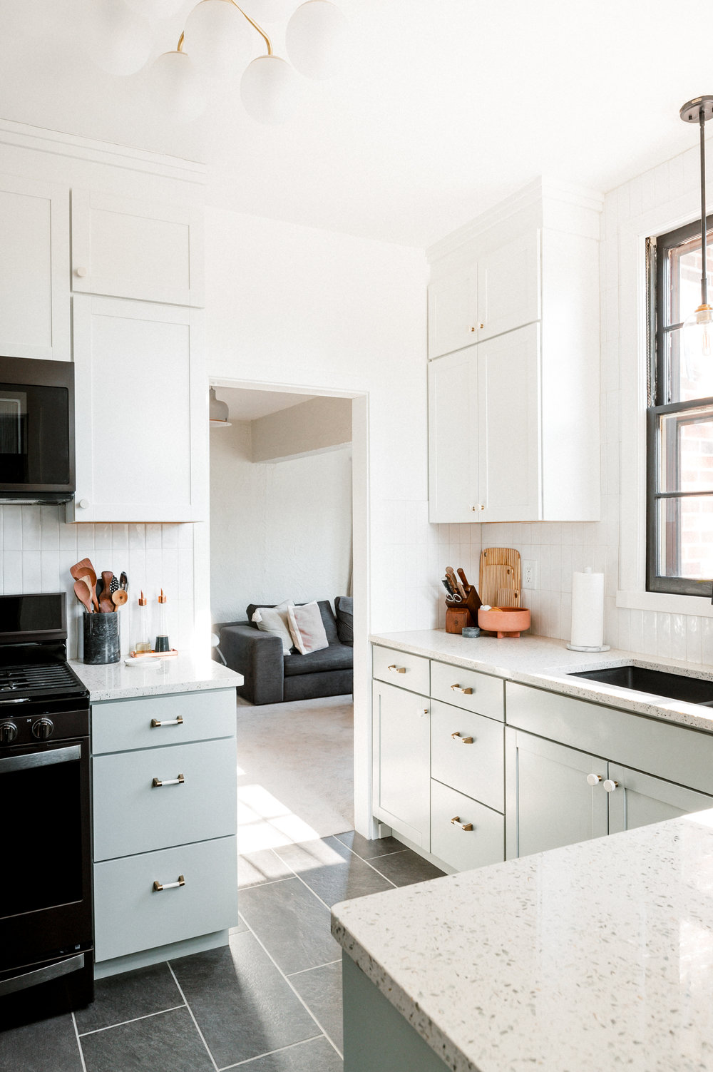 Our Diy Modern Kitchen Renovation The Day Shift