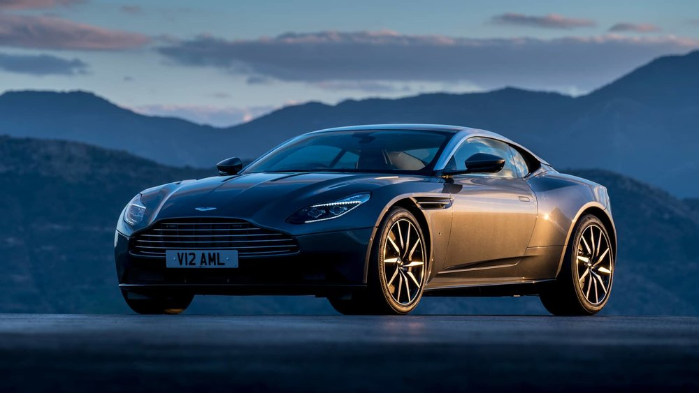 Aston Martin global website