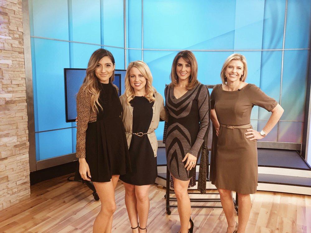 From left to right: Elizabeth Leon, Kylee Cruz, Jessica Parsons, April Wrecker.
