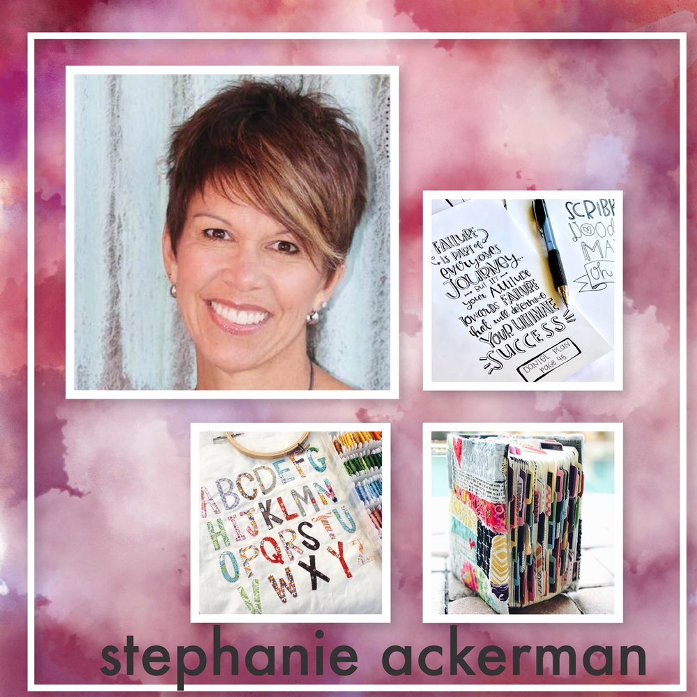 stephanie  will show and teach us all of her fabulous ways that she uses her creativity. there will be many hours of creating and lots of messes. good messes.   i've   begged her to teach stamp carving....  wahoooooooo  !!!! all the supplies will be provided. you just need to show up!!