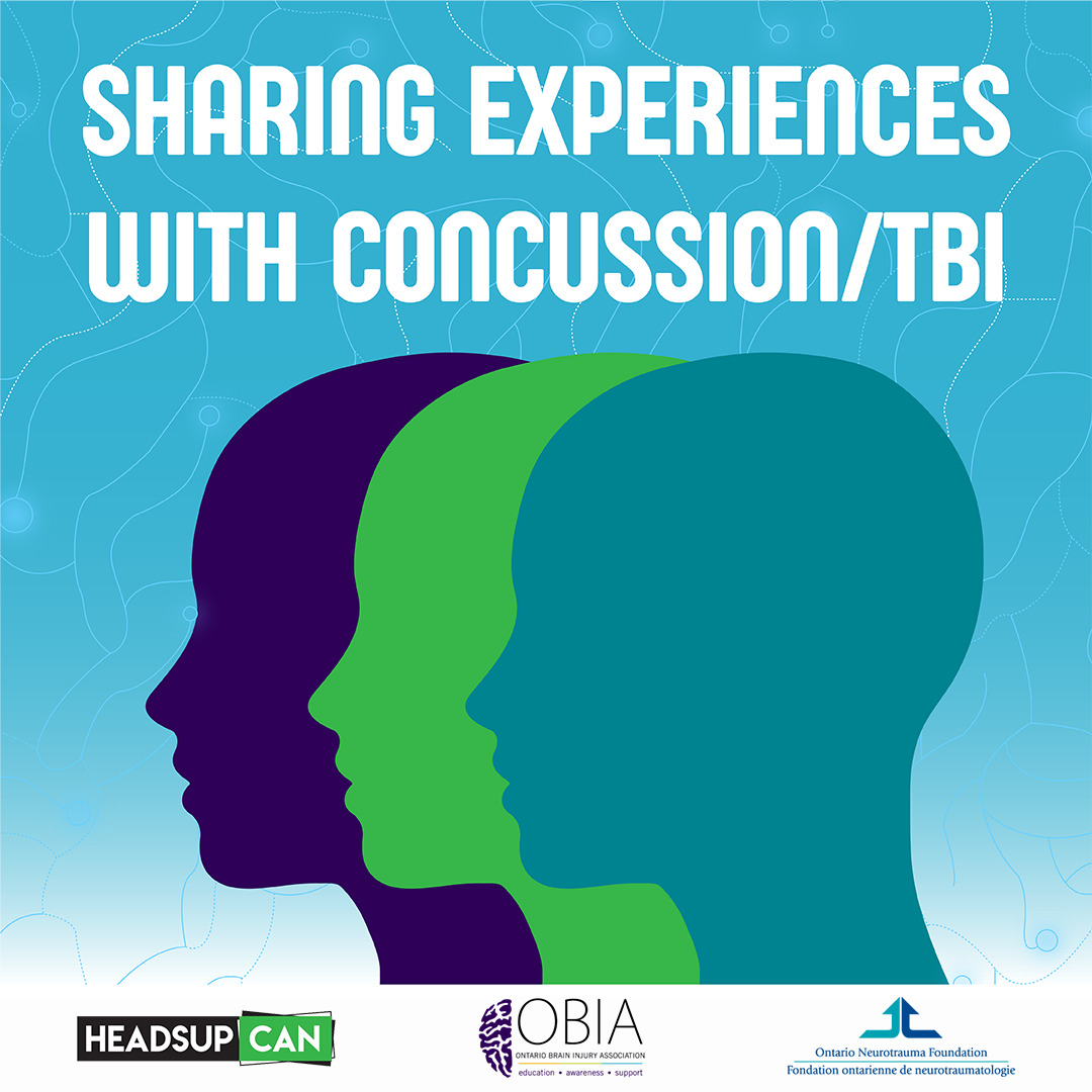 HeadsupCAN — Sharing Experiences with Concussion/TBI