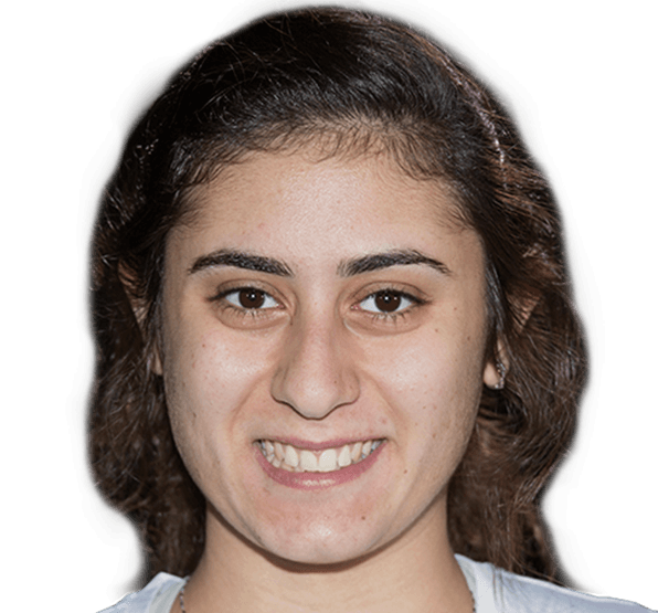 Nour El Sherbini (Egypt) - World #1   Nour El Sherbini is one of the most exciting female players on the PSA World Tour and has made history at both the World Championship and British Open - the two most prestigious tournaments on the PSA World Tour. In 2009, she became the youngest ever World Junior Champion at 13 years old. She broke in the worlds top 50 at 14 years old and claimed her first Tour title at the Heliopolis Open in 2010. 2015, saw Nour win her first Carol Weymuller Open. In 2016, she won her first World Series event at the Tournament of Champions and became the first female Egyptian to win the British Open. In April, Nour became the youngest World Champion of all time. All these great results vaulted Nour to the #1 World Ranking in May 2016 and she became the second youngest female to reach world #1. El Sherbini won her second World Championship title in 2017 and she went onto reach the final of the 2016/17 PSA Dubai World Series Finals.