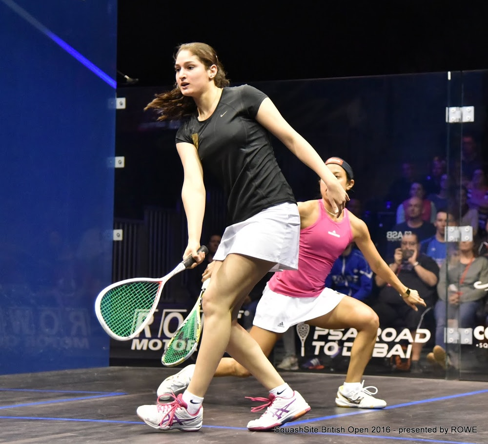 Mayar Hany (Egypt) - World #28   Mayar Hany made her PSA debut in December 2014 at the World Championships where she reached the first round where she lost out to fellow Egyptian Nour El Tayeb. Born in Cairo, Egypt, she won her first PSA tour title at the Seattle Open in March 2016, Hany beat Line Hansen over four games to clinch her maiden title after overcoming Hollie Naughton, Milou Van Der Heijden and Sarah Cardwell on her way to the final. Hany also finished runner-up at the Australian Open later that year, where she lost out to India's Dipika Pallikal Karthik over four games. Hany made the World's top 50 in the PSA Women's World rankings for the first time in December 2016.