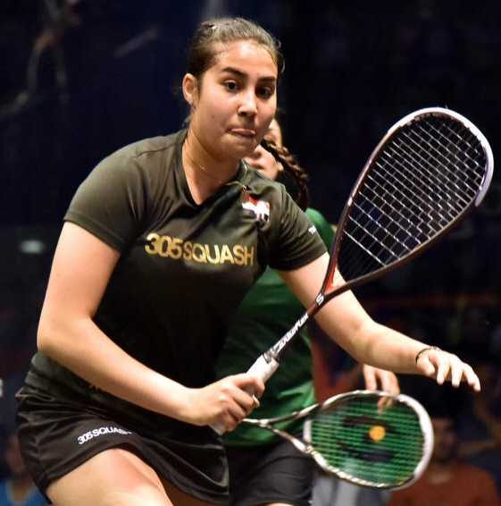 Mariam Metwally (Egypt) - World #25   Despite having turned professional a short time ago, Mariam Metwally has already proven that she looks set for a long and prosperous career on the PSA World Tour. After joining the Tour in 2011, Metwally lifted her maiden title in March 2013 at the Swiss Open. She then doubled her tally a year and a half later as she swept to the Open D'Italia crown, beating number three seed Amanda Landers-Murphy in the showpiece final. Metwally narrowly missed out on qualification for the main draws of the Tournament of Champions and the Windy City Open in early 2015 but she did make an appearance at the Alexandria International to end her campaign where she lost to Omneya Abdel Kawy. Metwally made it to the quarter-finals in the Wadi Degla Open in October 2016, where she lost out to Egyptian compatriot Nouran Gohar in straight games as Gohar sealed her place in the semi-finals.