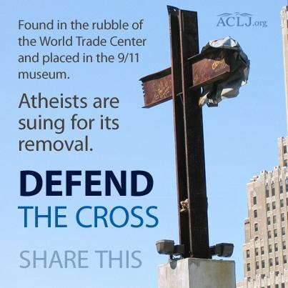 Don't let Atheists steal the steel cross 01.JPG
