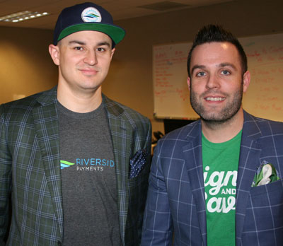 Jason Reese (CFO) and Brandon Skinner (CEO)