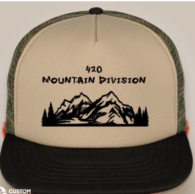 b1c5e2f71 420 Mtn Div Camo Trucker Hat — 420 Mountain Division