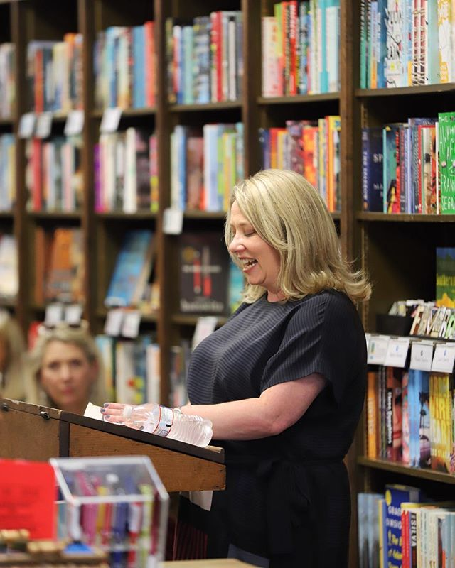 Gail Honeyman reads from her award-winning debut novel, ELEANOR OLIPHANT IS COMPLETELY FINE, on June 11 at Blue Willow Bookshop in Houston. ((You haven't fully experienced this book till you've heard it read in Gail's perfect Scottish lilt.)) 📖