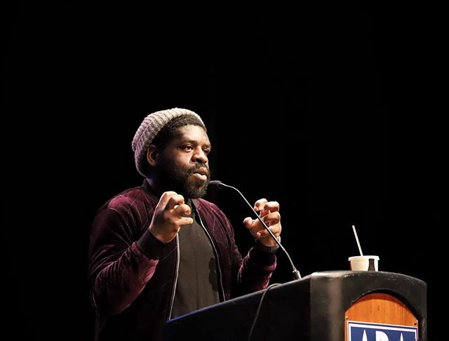 Happy pub day, Hanif Abdurraqib. We'll never forget your keynote last week. Can't wait to read GO AHEAD IN THE RAIN.