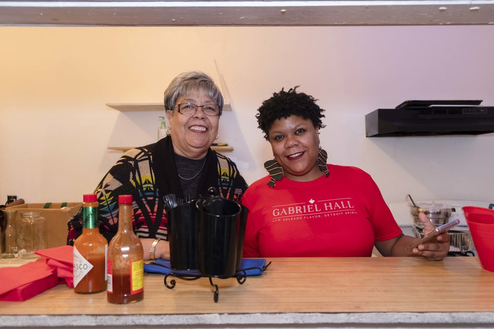 Chef Ederique of Gabriel Hall    |  Louisiana Cuisine & More!