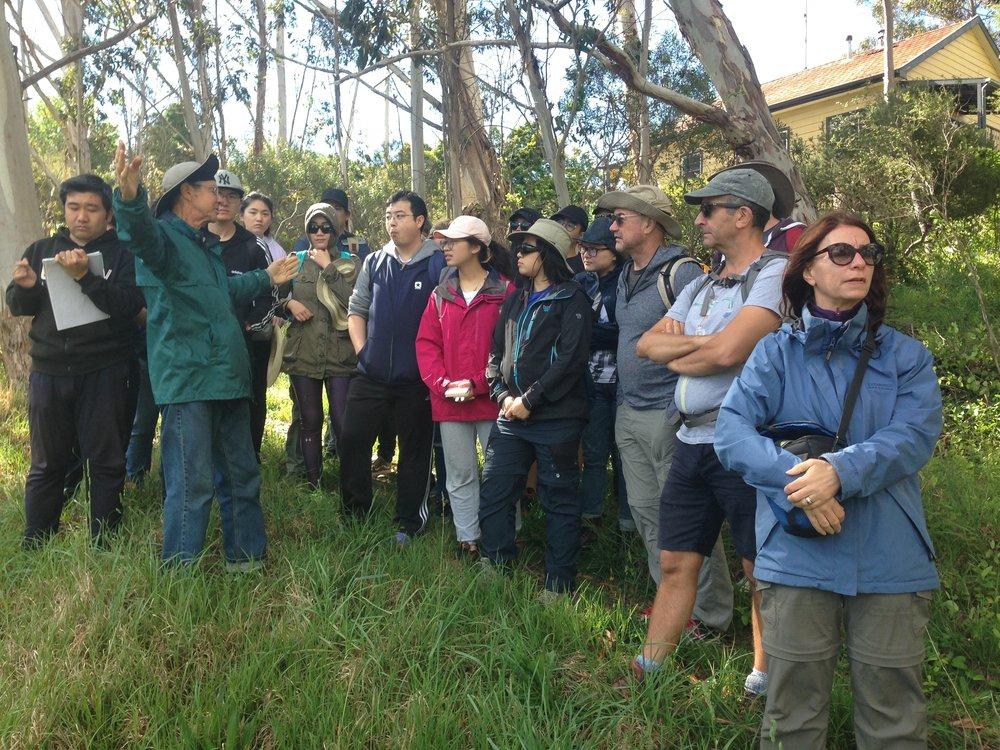 with Doug Benson, ex-Botanic Gardens & member, GBMWHA Advisory Committee.jpg