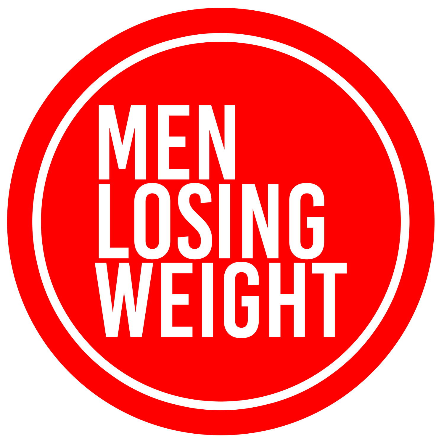 Men Losing Weight