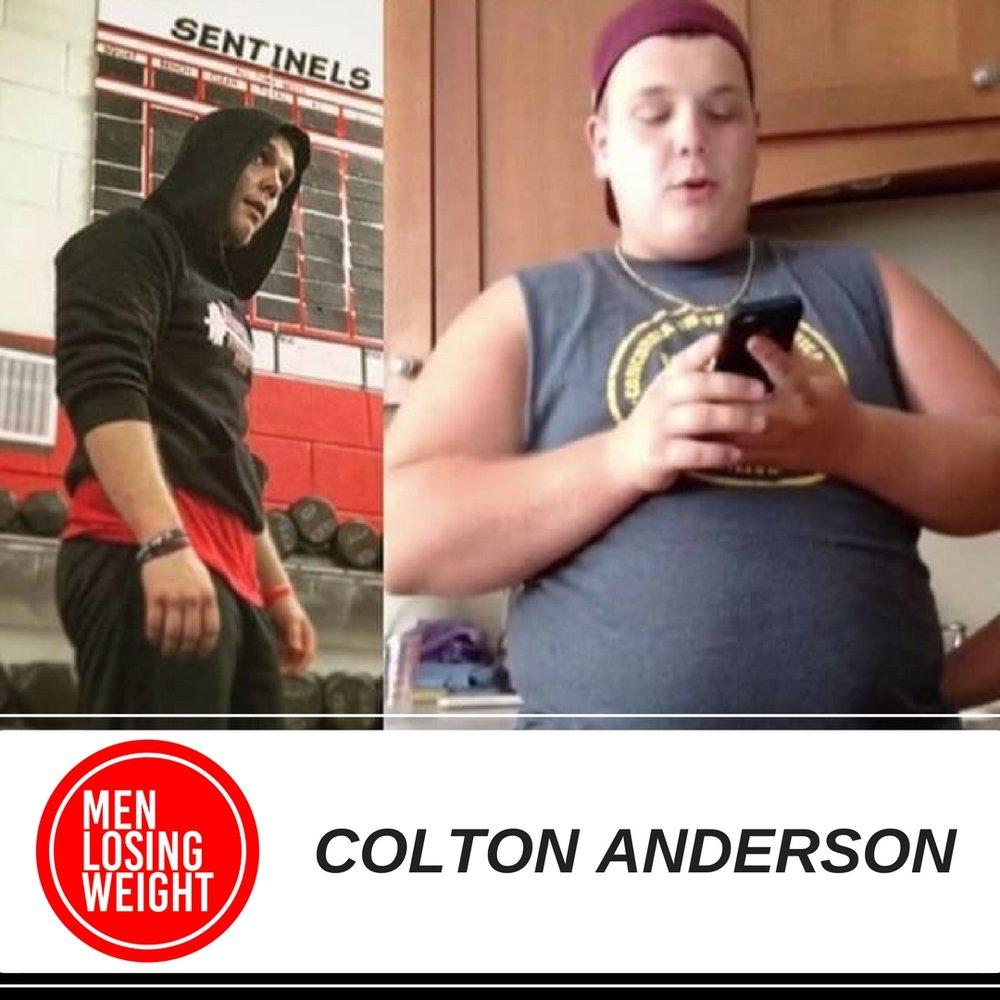 MEN LOSING WEIGHT - COLTON ANDERSON