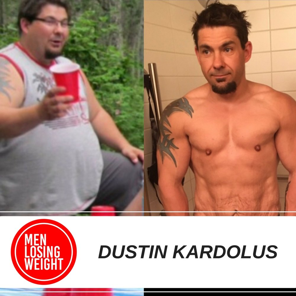 Men Losing Weight Podcast - Dustin Kardolus