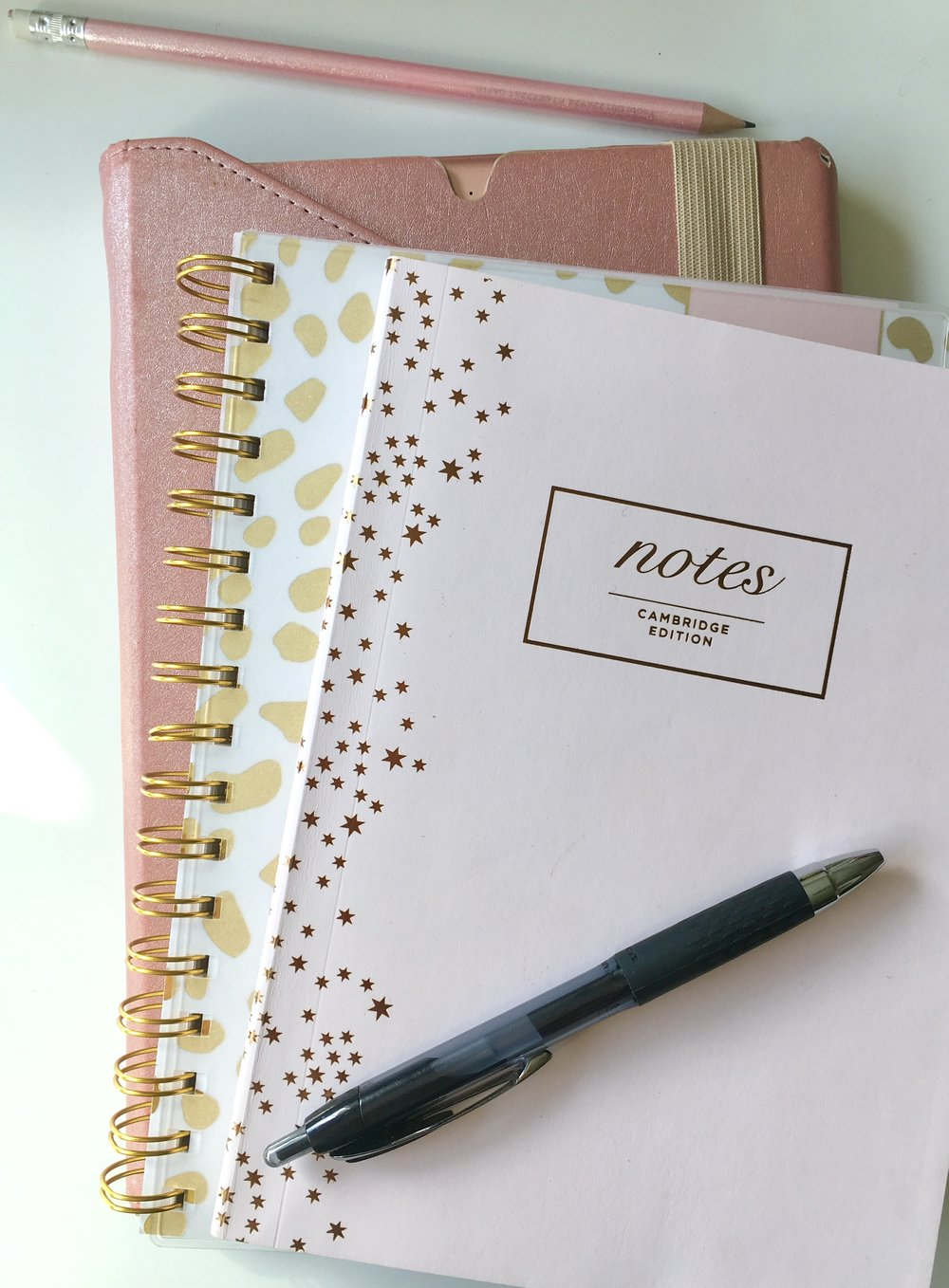 Any inexpensive notebook will work great as a journal.