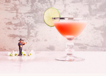 MI HERMOSA   1  oz   Pomp & Whimsy  1  oz  tequila 1  oz  watermelon juice ¼  oz  lime juice   Add all ingredients to a cocktail shaker, and shake vigorously with ice for 20 seconds before straining into a coupe .