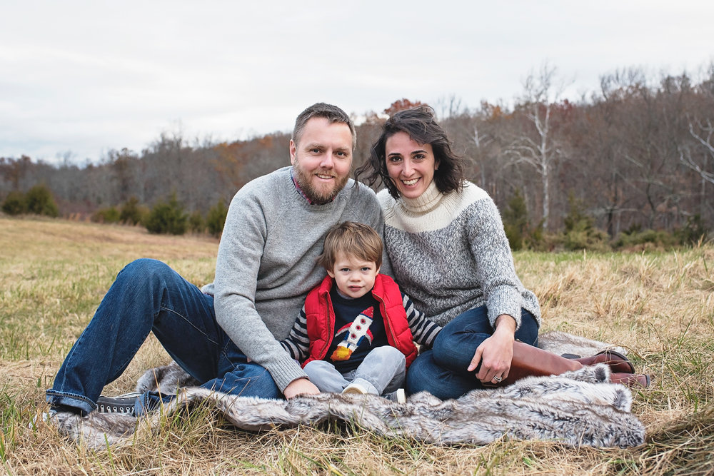 Happy loving family of three from Virginia hoping to adopt a child
