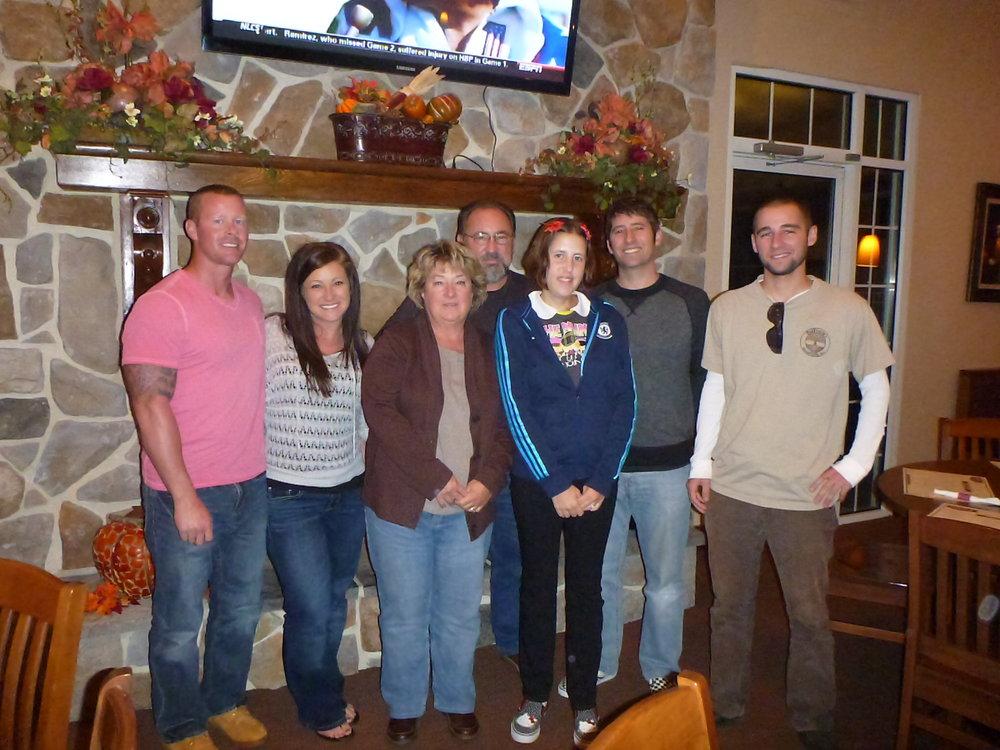 Visiting Bob's family in Ohio
