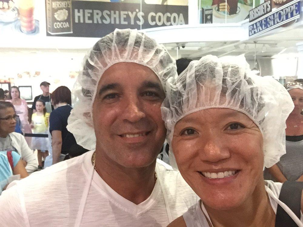 Making chocolate at Hershey Park