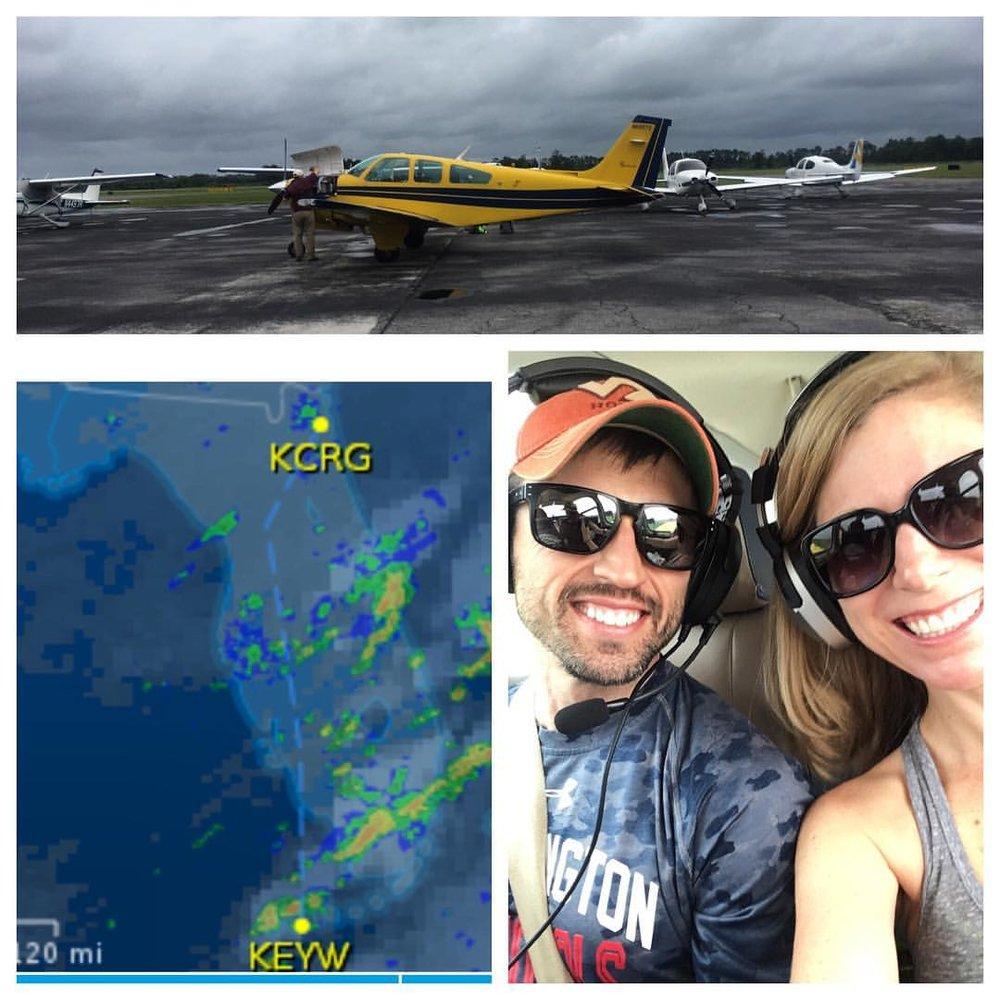 Uncle Randy flies us to Key West