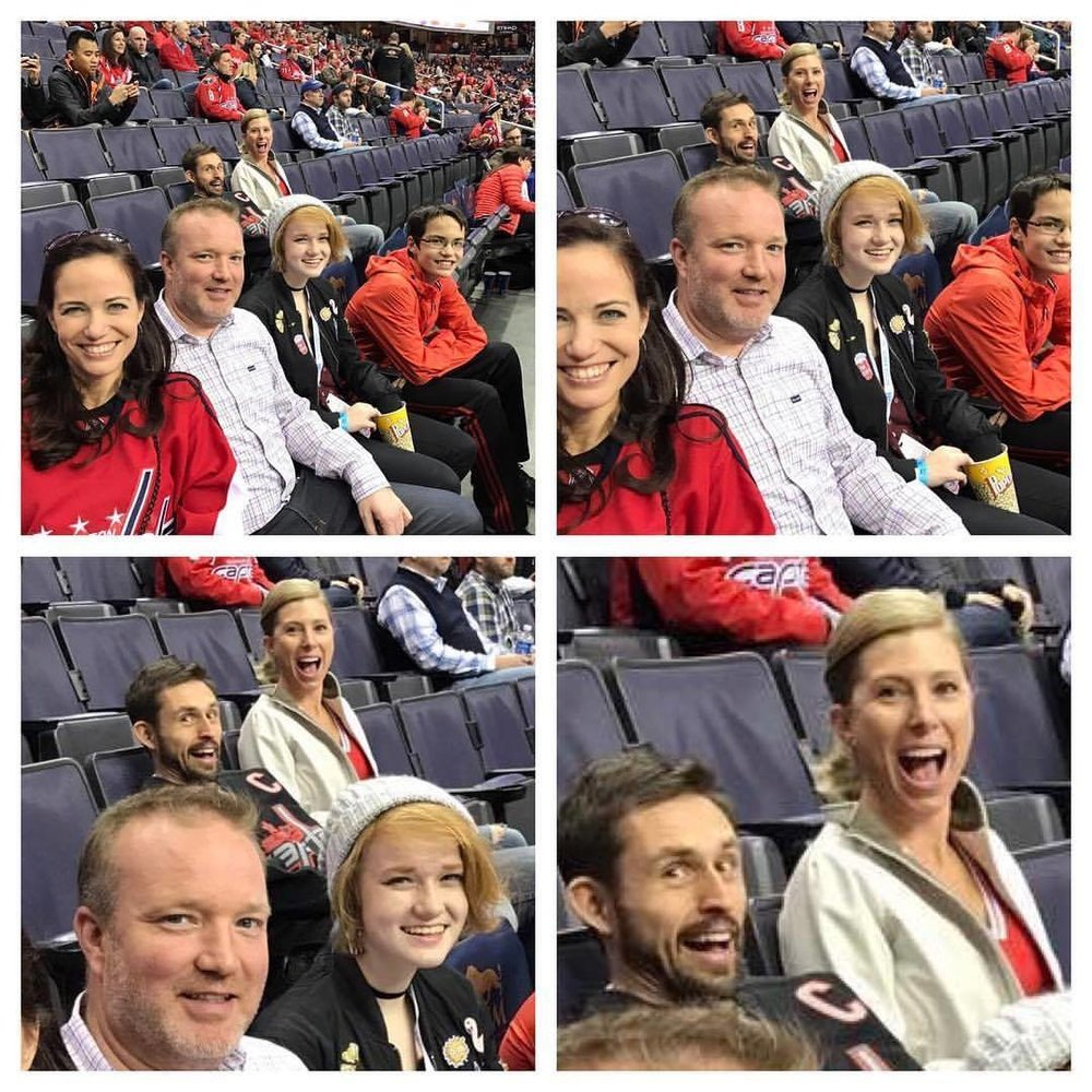 Who doesn't love a good photo bomb? Turns out some of our friends knew these people who randomly posted this on FB.