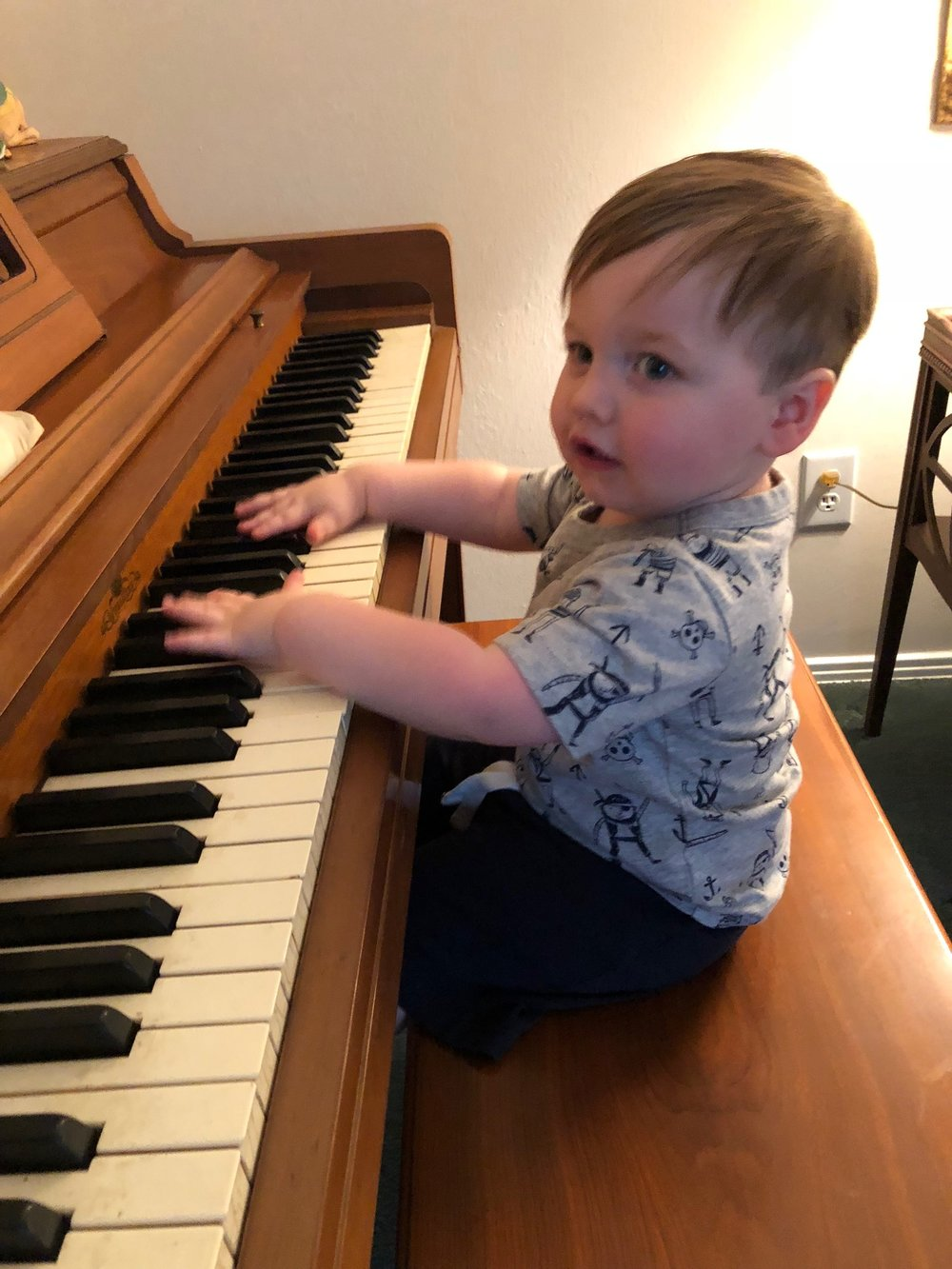 Brady loves music
