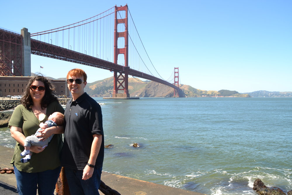 Visiting the Golden Gate Bridge