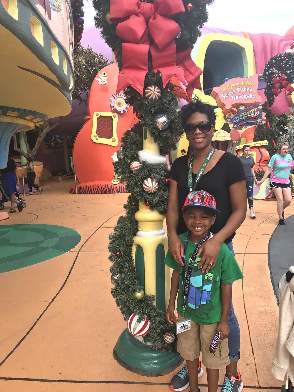 Holiday trip to Universal Studios