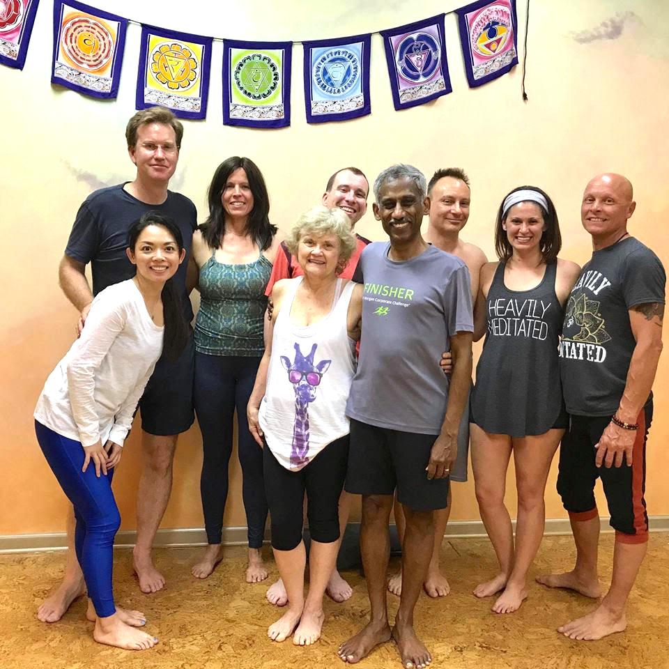 Adam's yoga group