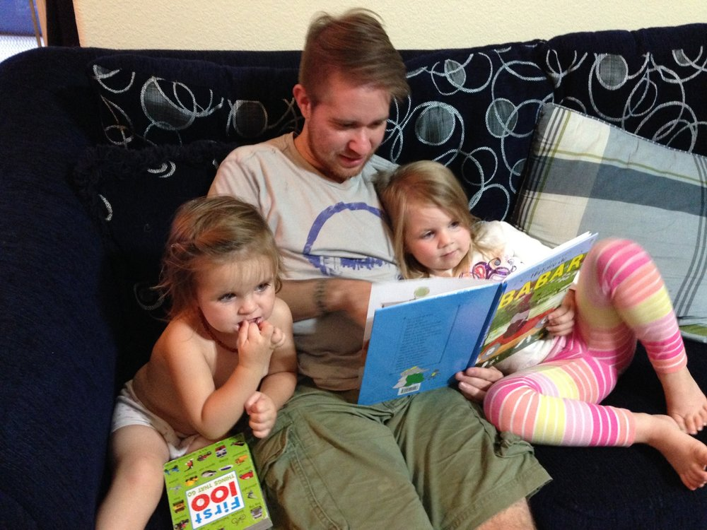 We love to read and so do our nieces!